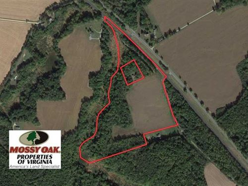 34 Acres of Farm Land With Home Si : Loretto : Essex County : Virginia
