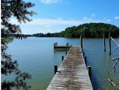 24 Acres of Waterfront Land Off Fa : Warsaw : Richmond County : Virginia
