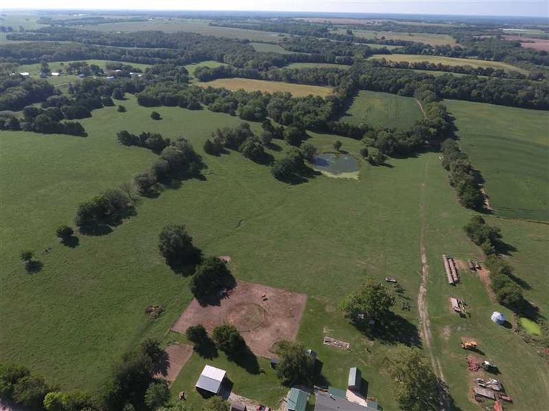 155 Acre Cooper County Missouri Cr : Otterville : Cooper County : Missouri