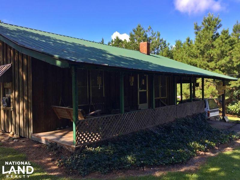 Bladon Springs Camp & Timber Invest : Bladon Springs : Washington County : Alabama