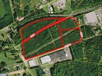 Industrial/Commercial Acreage : Cherryville : Gaston County : North Carolina
