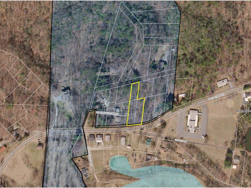 Lake Lure Residential Lot : Lake Lure : Rutherford County : North Carolina