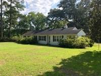 South Carolina Country Home Acreage : Wallace : Marlboro County : South Carolina