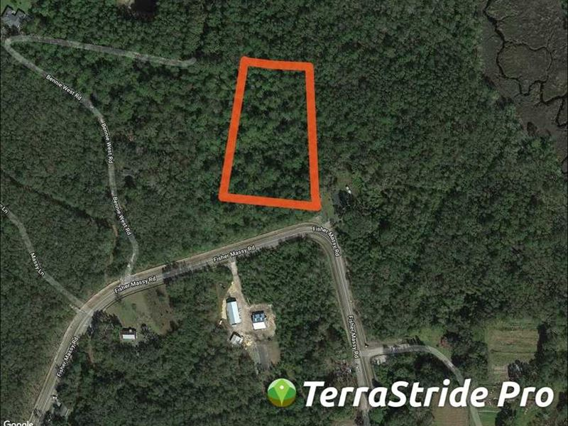 3 Acres of Residential Land in Cam : Waverly : Camden County : Georgia