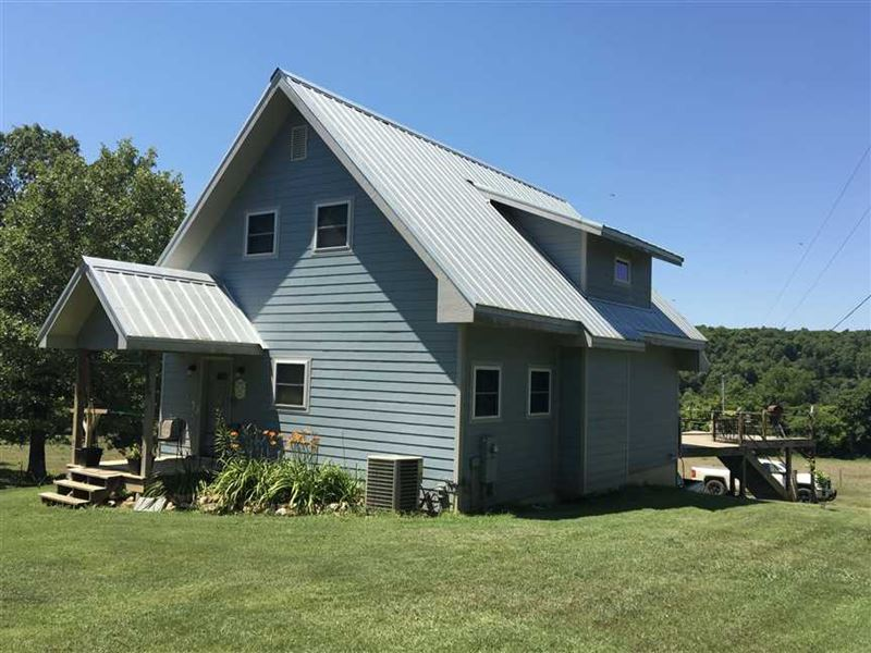 Gorgeous Cozy Home on 17 Acres : Williford : Sharp County : Arkansas