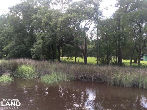 Sugar Land Pocotaligo Tidal Creek : Yemassee : Jasper County : South Carolina