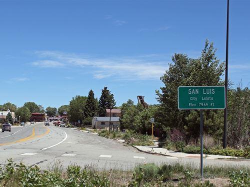 5 Acres In San Luis, CO : San Luis : Costilla County : Colorado