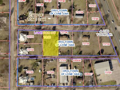 .43 Acres In Lone Oak, TX : Lone Oak : Hunt County : Texas