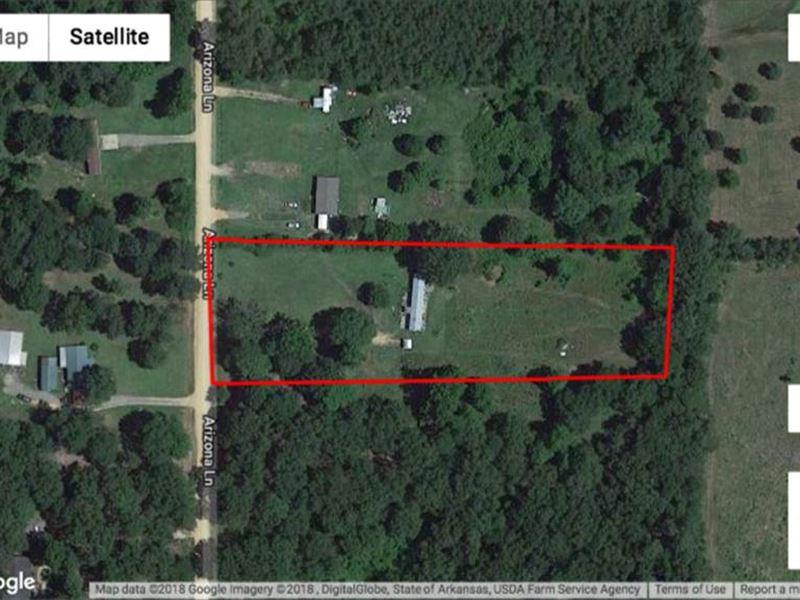 5 Acre Home Site : Star City : Lincoln County : Arkansas