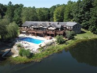 42 Acre Private Estate With Luxury : Cloverdale : Putnam County : Indiana