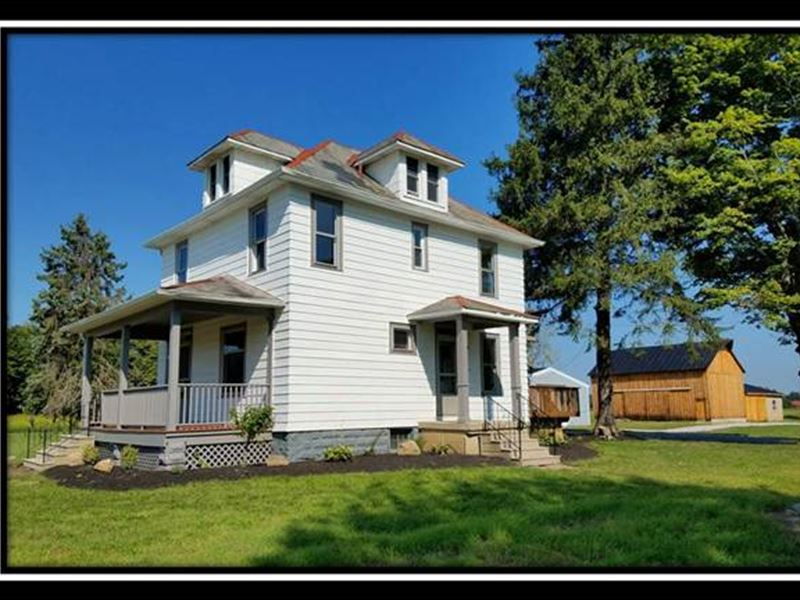 10684 Lynns Road Farm House : Etna : Licking County : Ohio