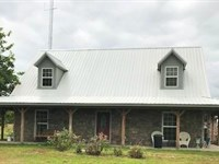 Ranch With Two Story Home & Barn : New Boston : Bowie County : Texas