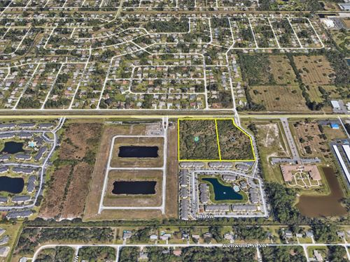 Multifamily - 15 Units Per Acre On : Palm Bay : Brevard County : Florida