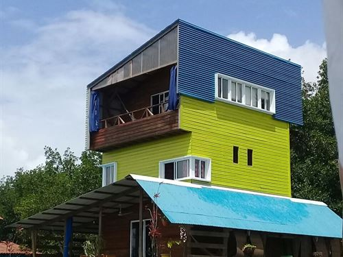 Over Sea Coastal Home, Bocas Del : Bocas Del Toro : Panama