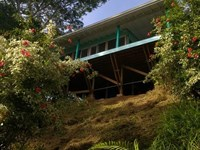 2 Homes, Hidden Oasis 7.5 Acres : Bastimentos : Panama