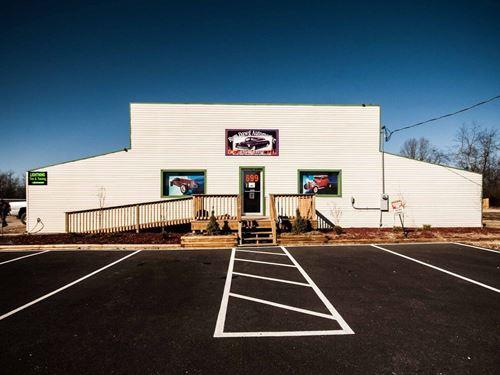Arkansas Commercial Building Land : Ash Flat : Sharp County : Arkansas