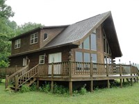 Log Home For Sale In Arkansas : Batesville : Independence County : Arkansas
