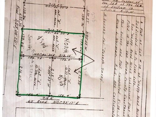 Building Lots For Sale : Clinton : Van Buren County : Arkansas