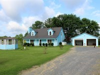 Foreman, AR Country Home 60 Acres : Foreman : Little River County : Arkansas