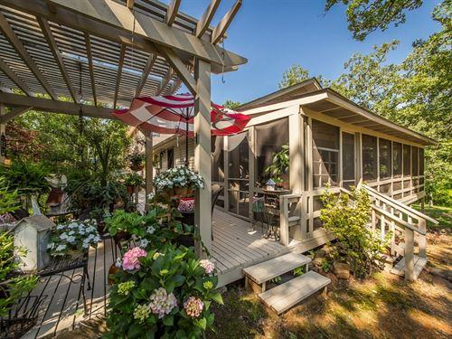 Beautiful Lakefront Home Higden Ar : Higden : Cleburne County : Arkansas