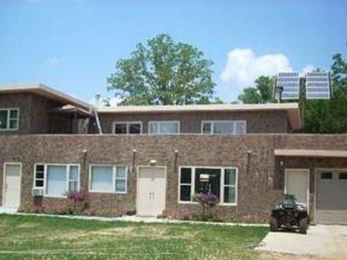 Unique Concrete Home Ozark : Huntsville : Carroll County : Arkansas