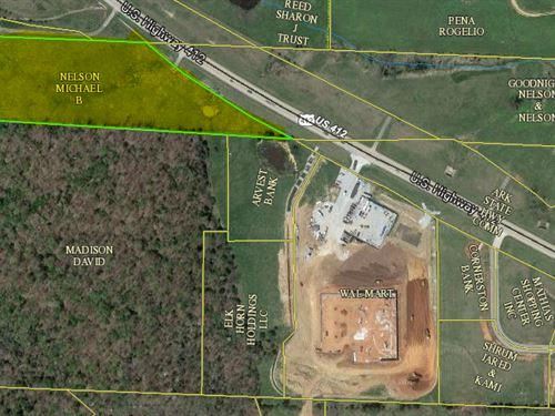 Development Potential 6.64 Acres : Huntsville : Madison County : Arkansas