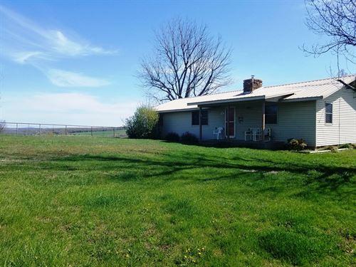 Madison County Cattle/Horse Farm : Huntsville : Madison County : Arkansas