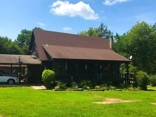 Home For Sale With Creek Frontage : Imboden : Lawrence County : Arkansas