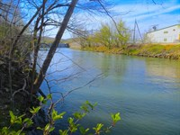 Spring River Access Lot Gated : Mammoth Spring : Fulton County : Arkansas