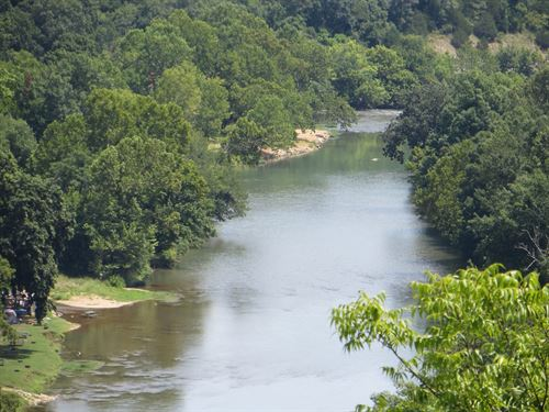 River Front Property For Sale : Mammoth Spring : Fulton County : Arkansas