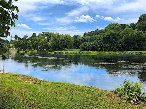 Riverfront Property Spring River : Mammoth Spring : Fulton County : Arkansas