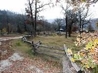 Building RV Site Some Pasture White : Mountain View : Izard County : Arkansas
