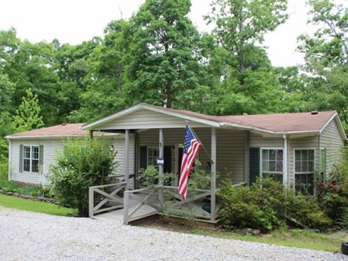 Country Home in Ozark Mountains : Mountain View : Stone County : Arkansas