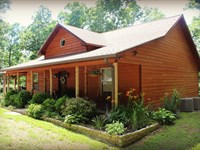 Large Country Home Close to White : Mountain View : Stone County : Arkansas