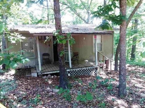 Secluded Cabin For Sale in Arkansas : Ozark Acres : Sharp County : Arkansas