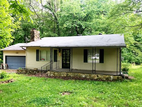 Country Home For Sale Near Lake : Ozark Acres : Sharp County : Arkansas