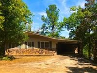Lakefront Home For Sale in Arkansas : Ozark Acres : Sharp County : Arkansas