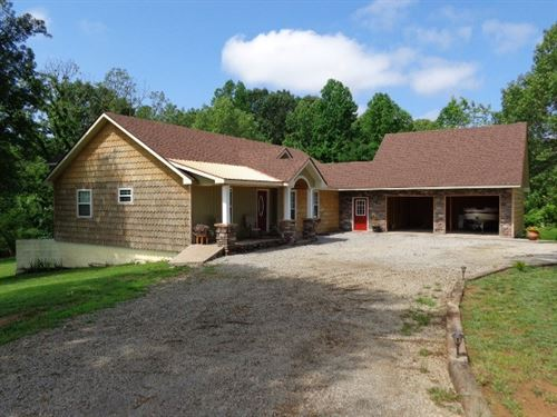 Executive Home Acreage Lake : Saffell : Independence County : Arkansas