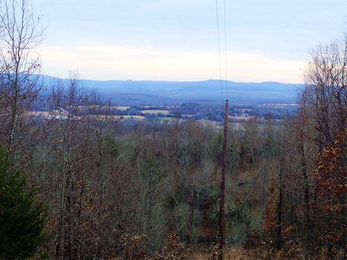 Land Near Buffalo National River : Saint Joe : Searcy County : Arkansas