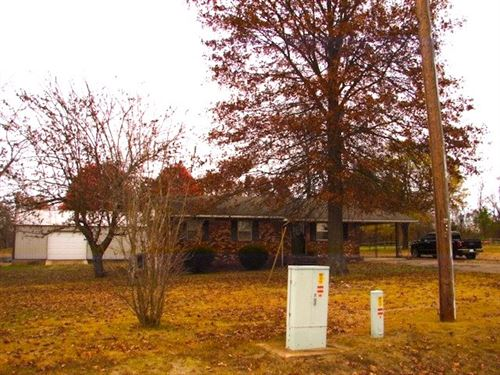 Ozarks House, Shop & Barn 3.6 Acres : Salem : Fulton County : Arkansas