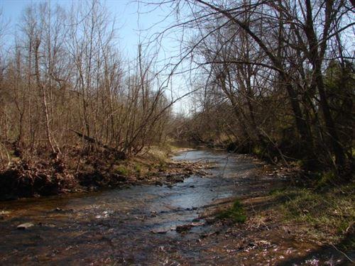 Arkansas Strawberry River Frontage : Salem : Fulton County : Arkansas