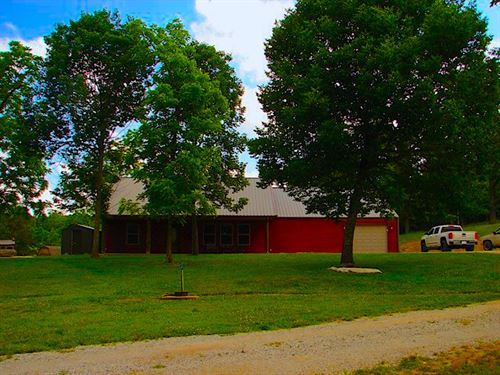 Ozarks Country Home, Cattle Farm : Salem : Fulton County : Arkansas