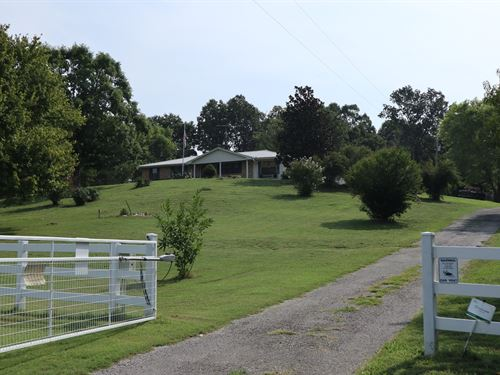Country Home & Land Hilltop View : Salem : Fulton County : Arkansas