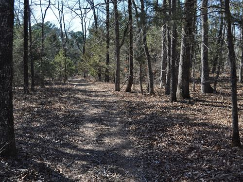 Acreage With Spectacular Views : Shirley : Van Buren County : Arkansas