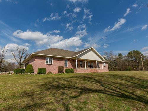 Brick Home With Land in Arkansas : Pine Ridge : Montgomery County : Arkansas