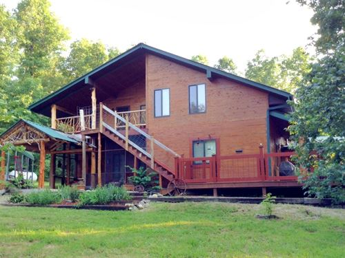 Custom Built Cedar Home 300 Ozark : Ravenden : Randolph County : Arkansas