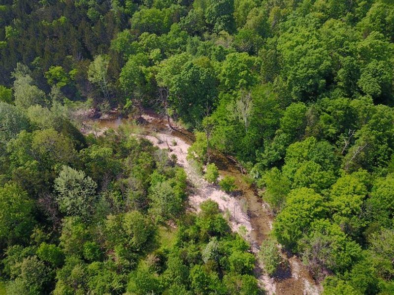 Nifty Home on 43 Very Pretty Acres : Ravenden : Randolph County : Arkansas
