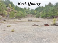 Land For Sale With Rock Quarry : Yellville : Marion County : Arkansas
