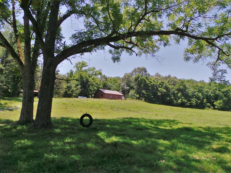 Upper Water Creek Farm For Sale : Yellville : Marion County : Arkansas