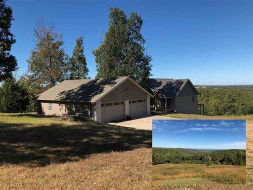 Big Home, Big Deck, Big Lake View : Yellville : Marion County : Arkansas